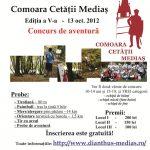 Comoara Cetatii Medias 2012 editia a V-a