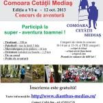 Comoara Cetatii Medias – 12 Octombrie 2013