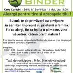 Crosul Binder, editia a IV-a, 11 Mai 2014