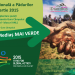 Actiune de plantare de Ziua Internationala a Padurii